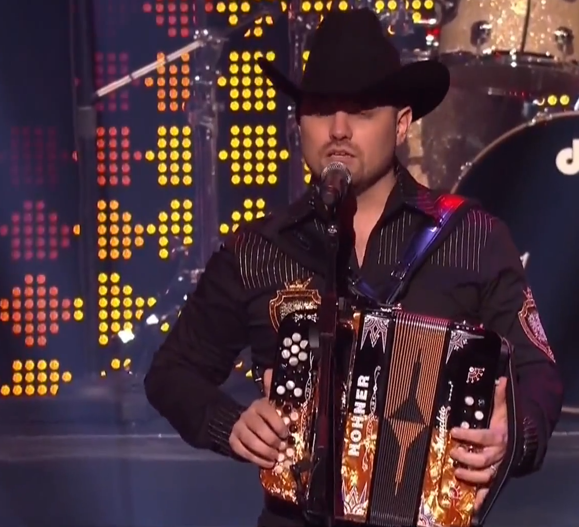 Anacleto Accordions at the Mexican Billboard Awards