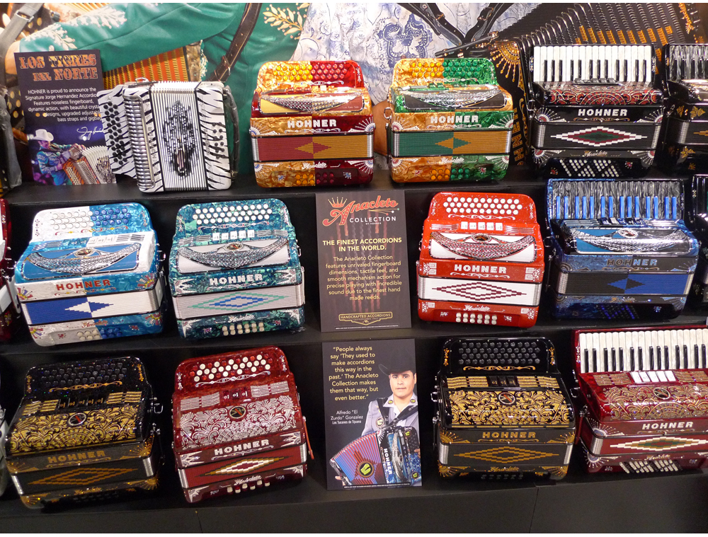 HOHNER introduces new Anacleto Accordions at NAMM