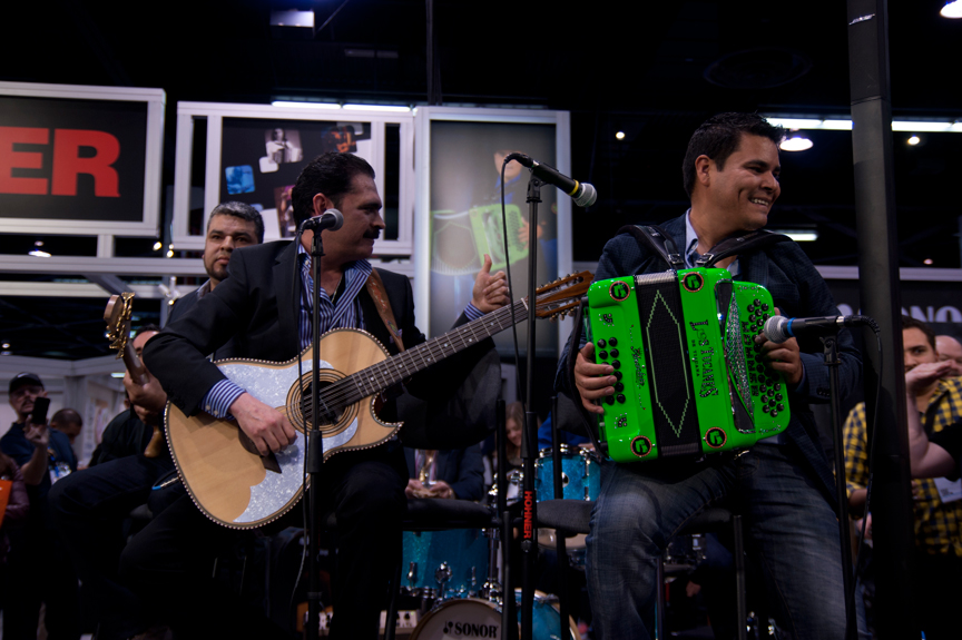 Los Tucanes Live at NAMM 2014